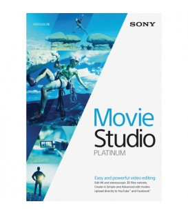 Sony KSPMS130SL3 - Sony Movie Studio Platinum 13 Volume License 100+ Users