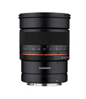 Samyang F1211213101 - 85mm F1.4 Canon RF