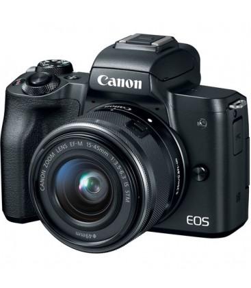 Canon 2680C012 - EOS-M50 + EF-M 15-45mm Black