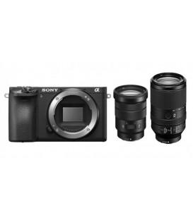 Sony ILCE6500TBDI.EU - Alpha 6500 Set 18-105mm + 70-300mm