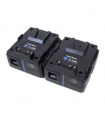 Hawkwoods VL-MX2 - Mini-VL 3A dual channel charger - simultaneous