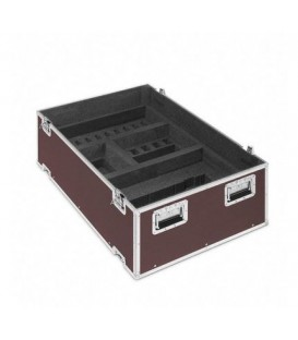 Sennheiser ADN Case G3 - 1 ADN CU connection and 1 ADN-W AM antenna module, 1 storage box, 4 wheels, with cover, black