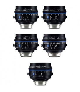 Zeiss 2246-658 - CP.3 Lenses - 5 Lens Set - XD eXtended Data