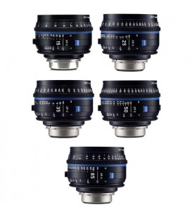 Zeiss 2246-660 - CP.3 Lenses - 5 Lens Set