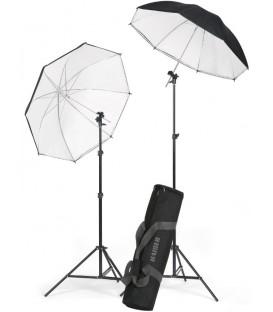 "Kaiser K1204 - ""Strobist"" Light Stand/Umbrella Kit"