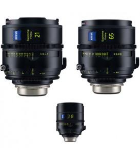 Zeiss 2329-585 - Supreme Prime PL Feet 3 lens Set
