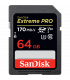 Sandisk SDSDXXY-064G-GN4IN - ExtremePro 170MB/s