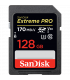 Sandisk SDSDXXY-128G-GN4IN - ExtremePro 170MB/s