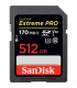 Sandisk SDSDXXY-512G-GN4IN - Extreme Pro 170MB/s