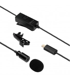 Boya BY-GM10 - Lavalier mic for GoPro