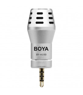 Boya BY-A100 - Plug-in mic for Smartphone, Ipad