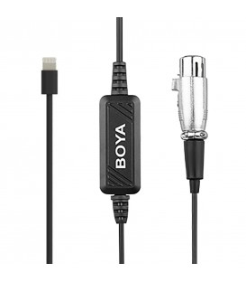 Boya BY-BCA7 - XLR to Lightning adapter cable