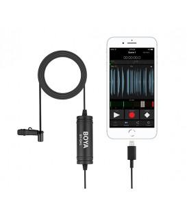 Boya BY-DM1 - Digital Lavalier Mic for iOS