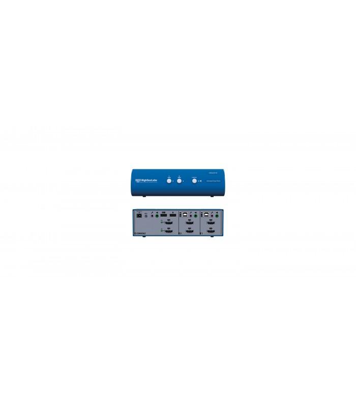 Kramer DK22H-N - Dual-Head KVM Switch 2-Port 4K HDMI video - VISUALS e-shop