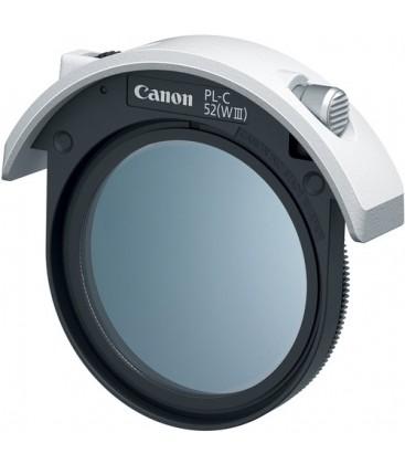 Canon 3050C001 - Drop-In Circular Polarizing Filter PL-C 52 (WIII)