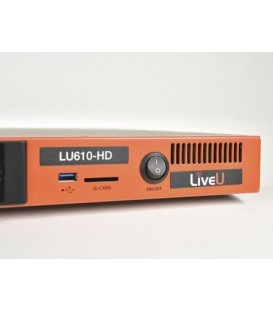 LiveU LU610-4K-M - LU610 HEVC-4K encoder with internal modems