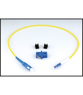 Lynx LC/SC SIM - OPTION: Simplex LC/SC Fiber Adapter Kit (SMF)