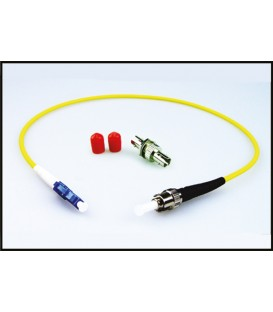 Lynx LC/ST SIM - OPTION: Simplex LC/ST Fiber Adapter Kit (SMF)