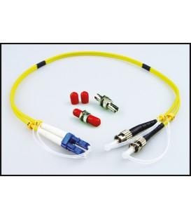 Lynx LC/ST DUP - OPTION: Duplex LC/ST Fiber Adapter Kit (SMF)