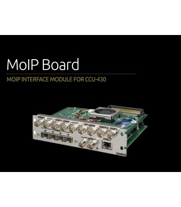 Ikegami MoIP board - MoIP SMPTE 2110 Input-Output board for CCU-430