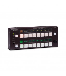 For-A MFR-16RUTA - 16 Button Router Control Panel with built-in display, desktop version