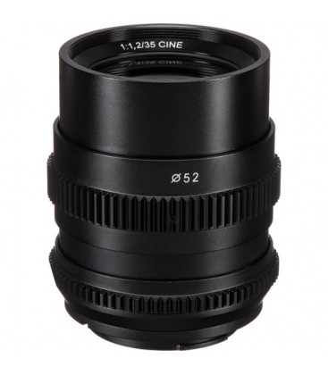 SLR Magic SLR-3512FE - CINE 35mm F1.2 lens (Sony E Mount)