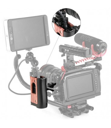 SmallRig HSN2270 - NATO Handle for BMPCC 4K and Samsung T5 SSD