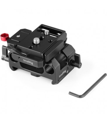 SmallRig DBM2266B - Baseplate for BMPCC 4K (Manfrotto 501PL Compatible)