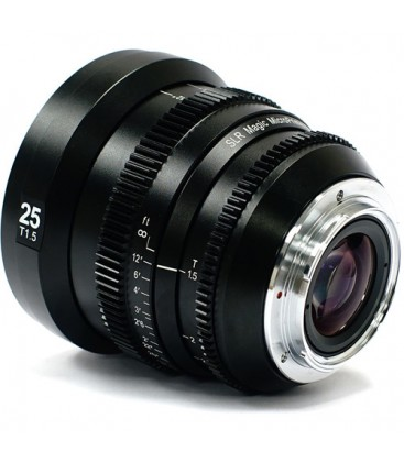 SLR Magic SLR-MP25E - MicroPrime 25mm T1.5 lens in full frame E mount