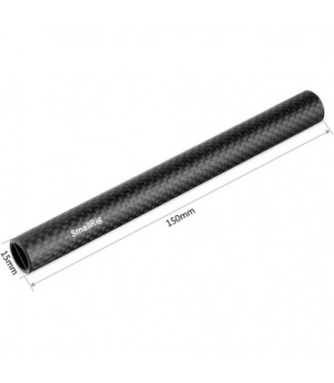 SmallRig 1872 - 15mm Carbon Fiber Rod (6'', pair)