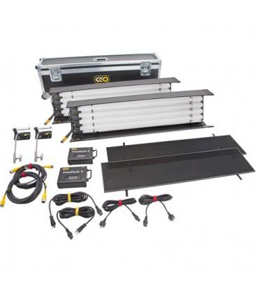 Kinoflo KIT-FT44GU - FreeStyle T44 LED DMX Gaffer DMX Kit (2-Unit), Univ