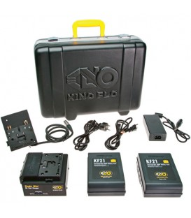 Kinoflo KIT-BK12 - Block/KF21 Single Battery Kit (2 Batteries)