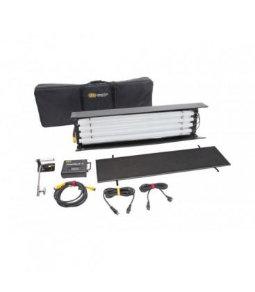 Kinoflo KIT-F484BU - FreeStyle T44 DMX Kit (1-Unit) w/ Soft Case, Univ