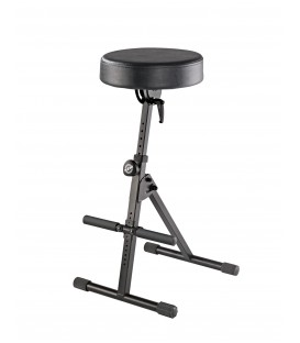 König & Meyer 14061.000.55 - Pneumatic stool - black imitation leather