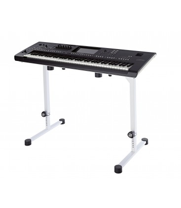 König & Meyer 18810.015.76 - Table-style keyboard stand Omega - pure white
