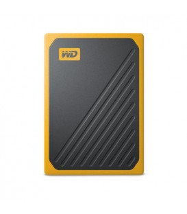 Sandisk WDBMCG0010BYT-WESN - WD My Passport Go SSD 1TB yellow