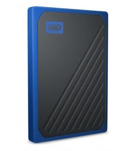 Western Digital WDBMCG5000ABT-WESN - WD My Passport Go SSD 500GB blue