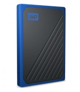 Sandisk WDBMCG5000ABT-WESN - WD My Passport Go SSD 500GB blue