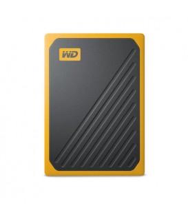 Western Digital WDBMCG5000AYT-WESN - WD My Passport Go SSD 500GB yellow