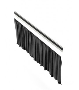 König & Meyer 11995.000.55 - Curtain for conductor podium - black