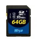 Wise WI-SD1-64U3 - SDXC Card -64G/UHSI(U3)