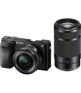 Sony ILCE6100 with SELP1650 & SEL55210 - Alpha 6100 Double Zoom Kit