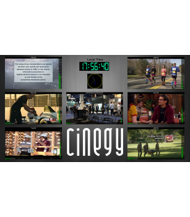 Cinegy OPS Pack Purchase - 24x Cinegy Multiviwer Channels, Cinegy Route, 1Y Business SLA + Cinegy Telemetry service.