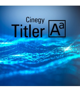 Cinegy TITLER - one channel license for CG & branding
