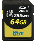 Wise WI-SD2-64U3 - SDXC Card -64G/UHSII(U3)