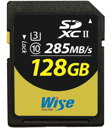 Wise WI-SD2-128U3 - SDXC Card -128G/UHSII(U3)