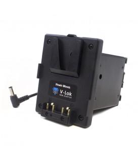 Hawkwoods VLM-Z28 - V-Lok mini Sony PXW-Z280/190 camera mount - 2x d-tap