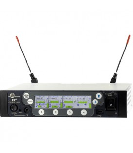 Lectrosonics DSQD  - 4-Channel Digital Receiver