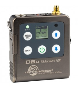Lectrosonics DBu - Digital belt Pack Transmitter