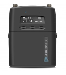 Audio Limited A10-TX-D - Digital portable transmitter with Recorder + Timecode